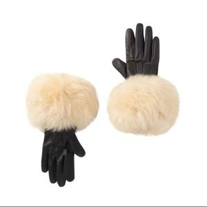 NWT UGG leather gloves